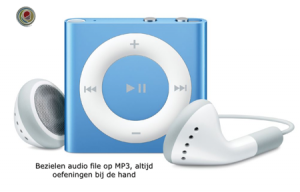 ipod Bezielen Audio (mindfulness huiswerk)